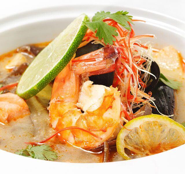 "Suppe ""Tom Yam"""