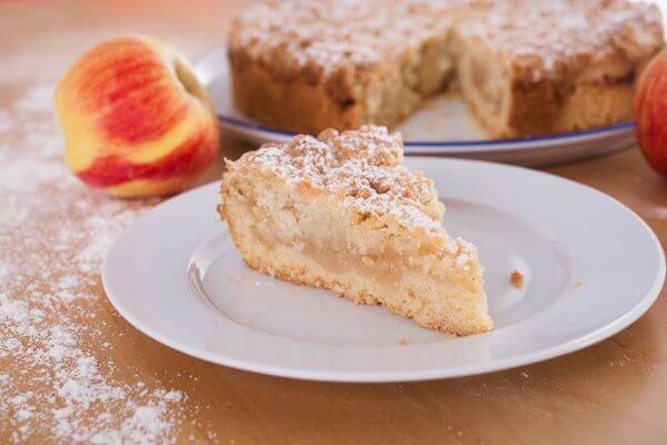 Apfelkuchen Mit Streuseln Genius Rezeptwelt