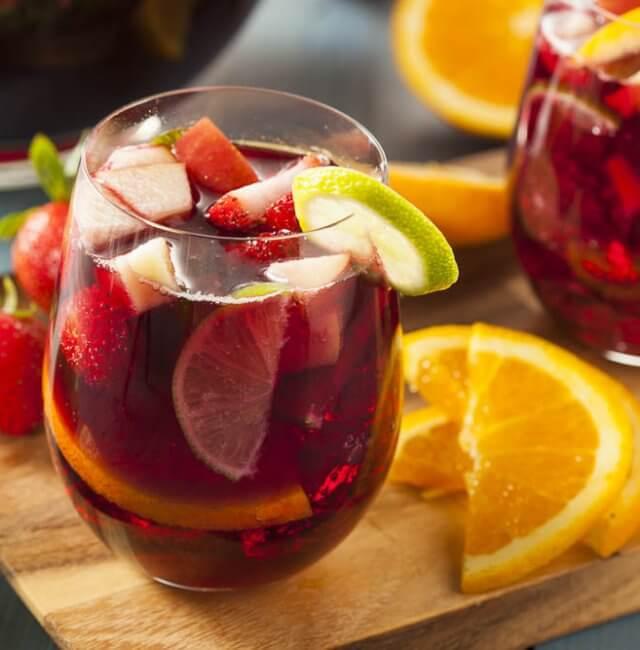 Fruchtige Bowle