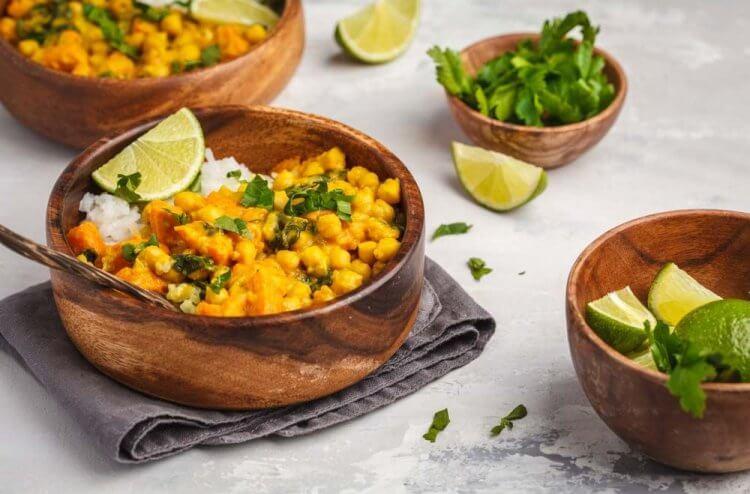 Süßkartoffel Curry