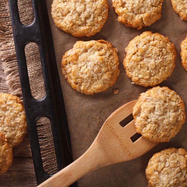 Haferflocken-Kokos-Kekse