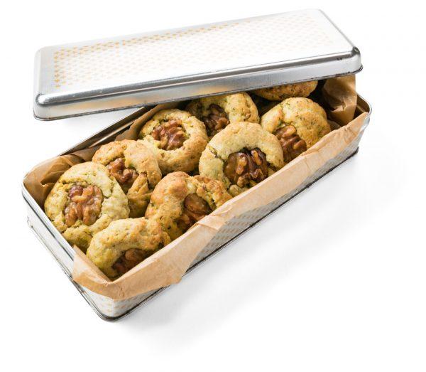 Herzhafte Walnuss-Kekse