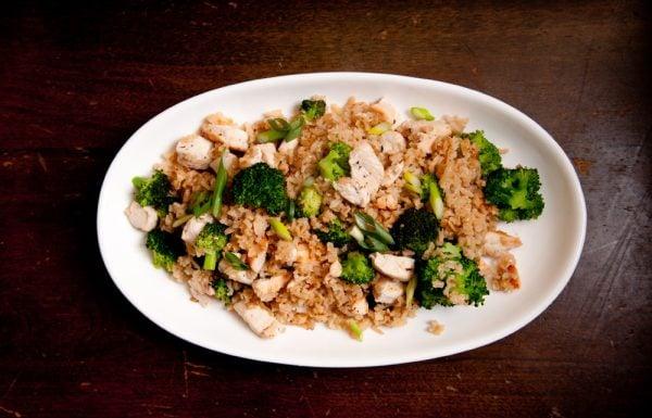 One-Pot Hähnchen mit Reis