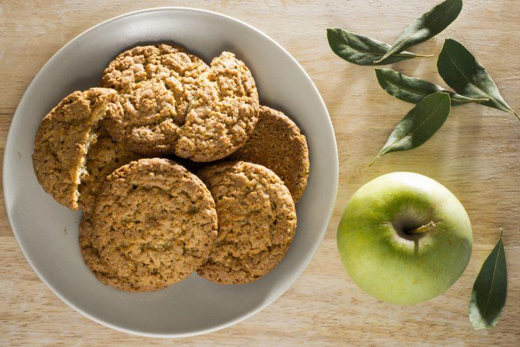 Apfel-Crumble-Kekse