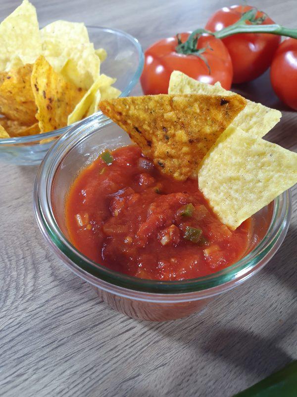 Selbstgemachte Salsa