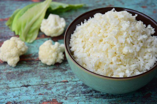 Blumenkohl-Reis-Bowl