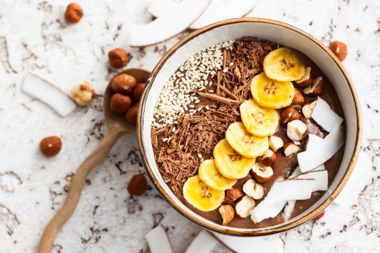 Schoko Smoothiebowl