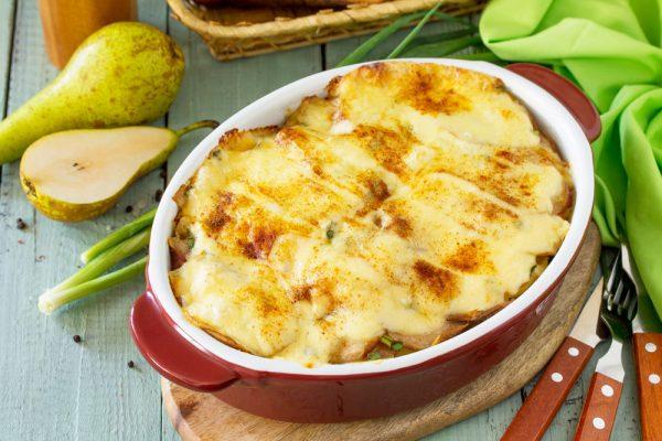 Kartoffelgratin_mit_Birnen