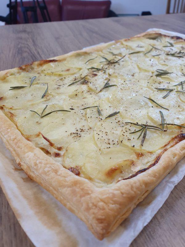 Blätterteig-Kartoffel-Tarte