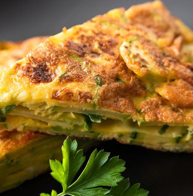 Zucchini Omelett